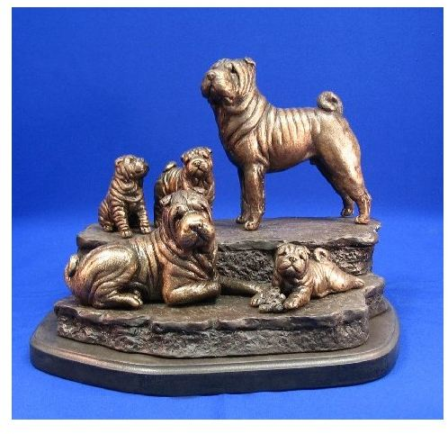 Chinese Shar Pei - Family Outing II