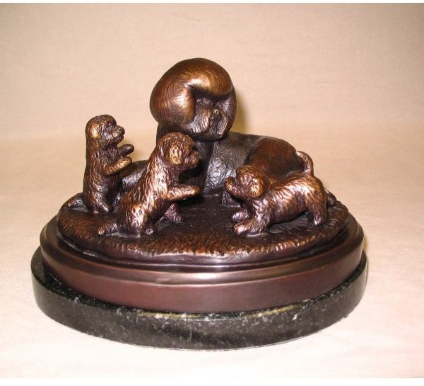 Bichon - Celebration in BRONZE