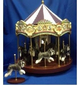 Miniature Schnauzer Dog - Carousel
