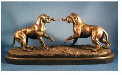 Bullmastiff - Tug O War