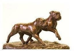 Bullmastiff - Pair Run/Play