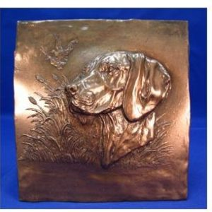 Vizsla - Relief Design Plaque