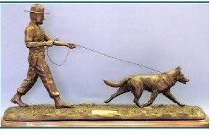 German Shepherd Dog - Tracking