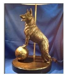 German Shepherd Dog - Lamp