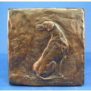 Rhodesian Ridgeback - Relief Design Plaque 3