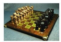 Bullmastiff - Cold Cast Chess Set