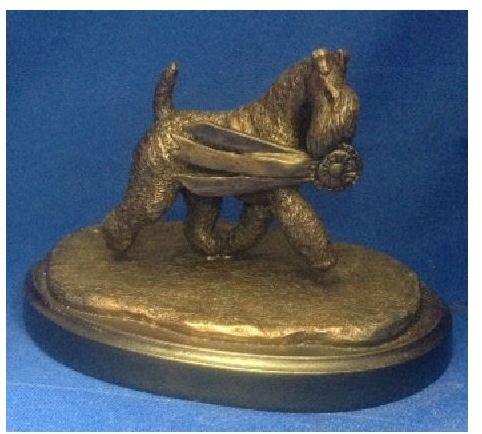 Kerry Blue Terrier Dog - The Winner