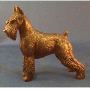 Standard Schnauzer - Small Standing Dog