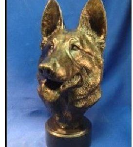German Shepherd Dog - Med Size Bust