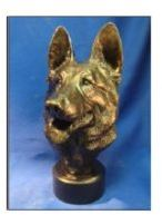 German Shepherd Dog - Med Size Bust
