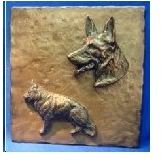 German Shepherd Dog - Tile
