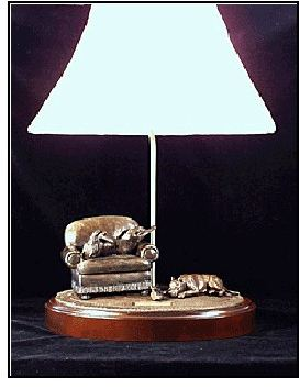 Am.Staffordshire Terrier -Comfort Zone Lamp