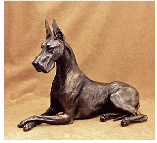 Great Dane Dog - Large Lying Female