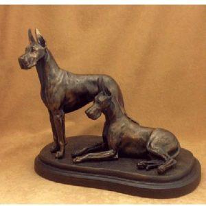 Great Dane Dog - Medium Size Pair
