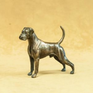 Boxer - Small Standing with Natural Ears and Tail
