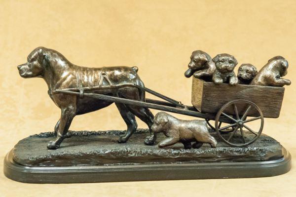 Rottweiler - Cart Scene