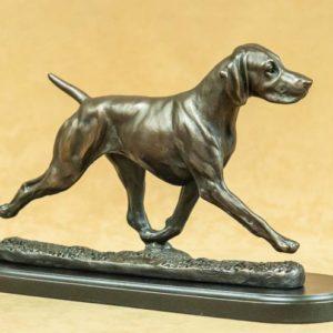 Weimaraner - Large Moving Dog
