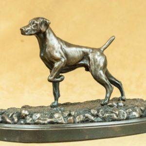Weimaraner - Small Dog on Point