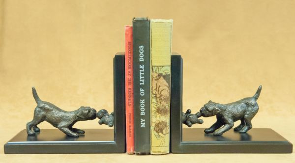 Border Terrier - Bookends