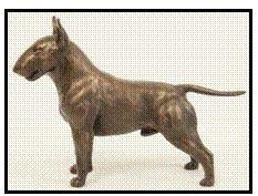 Bull Terrier - Small Standing dog