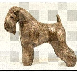 Soft Coated Wheaten Terrier - Large Standing Dog
