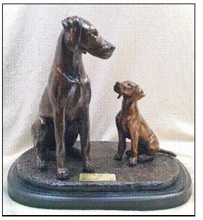 "German Shorthair Pointer - ""My Hero"""