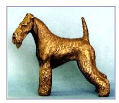 Airedale Terrier - Small Standing Dog