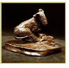 Bedlington Terrier - A Better Mousetrap
