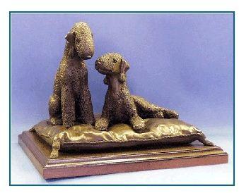 Bedlington Terrier - Pillow Talk