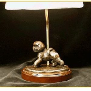 Bichon - Small Moving Dog Lamp