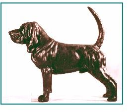 Bloodhound - Small Standing Dog