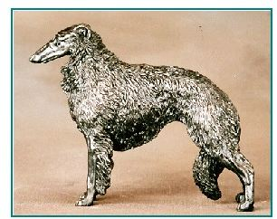 Borzoi - Small Standing dog