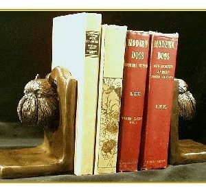 Brussels Griffon - Bookends