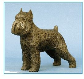 Brussels Griffon- Small Standing Dog
