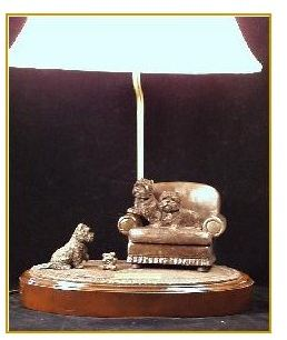 Cairn Terrier - The Gift Lamp