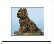 Cairn Terrier - Sitting on Base