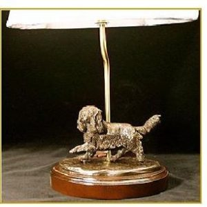 Cavalier King Charles Spaniel - Small moving dog Desk Lamp