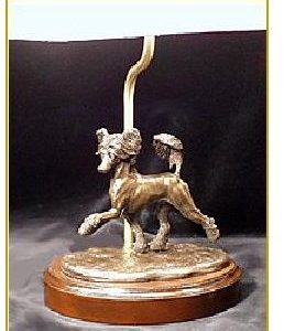 Chinese Crested - small moving dog Lamp
