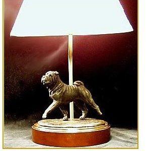 Chinese Shar Pei - Small Moving Dog Lamp