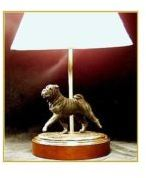 Chinese Shar Pei - Small Moving Dog Lamp