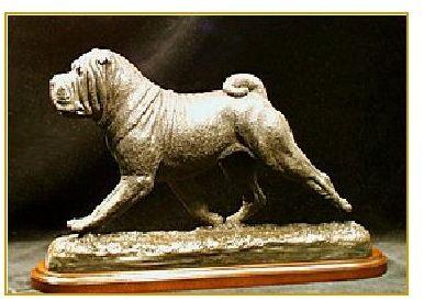 Chinese Shar Pei -X-Large Moving Dog