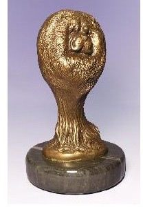 Chow Chow - Foundry Bronze Bust