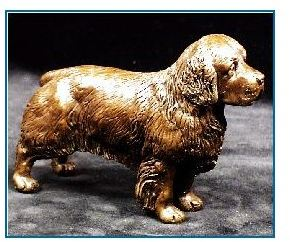 Clumber Spaniel- Small Standing