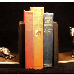 Collie Smooth - med. pair Bookends
