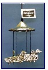 Dachshund Long Coated Dog - Windchimes