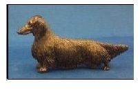 Dachshund Longhaired - Small Standing Dog
