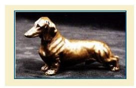 Dachshund Smooth - Small Standing Dog