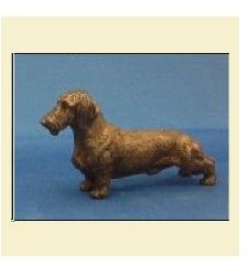 Dachshund Wirehaired - Small Standing