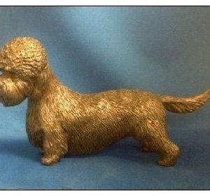 Dandie Dinmont Terrier - Large Standing Dog
