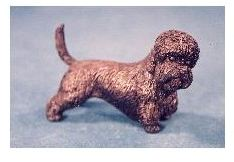 Dandie Dinmont Dog - Small Standing Dog